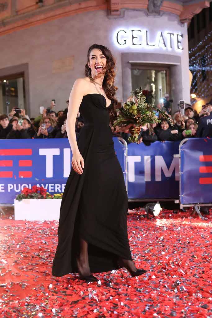 Sanremo 2018, il primo red carpet, tappeto rosso