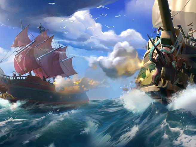 Microsoft s'affida ai pirati di Sea of Thieves per il rilancio di Xbox