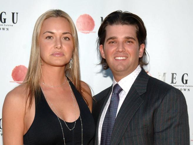 Busta con polvere bianca: pauraper  la mogliedi Trump jr