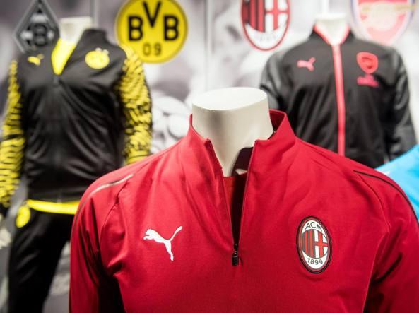 Milan, passaggio da Adidas a Puma. Fassone: