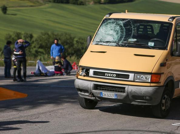 Ancona, morto per un tumore l'uomo che investì il ciclista Scarponi