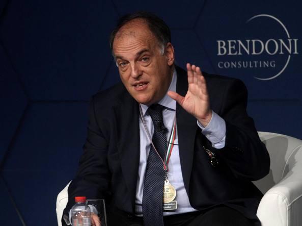 La Liga blinda il presidente Tebas, e c'è la clausola anti-Italia