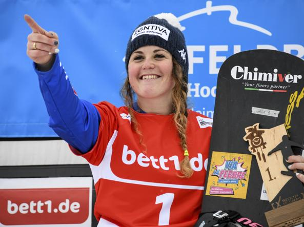 Olimpiadi, snowboard: oro per la Moioli