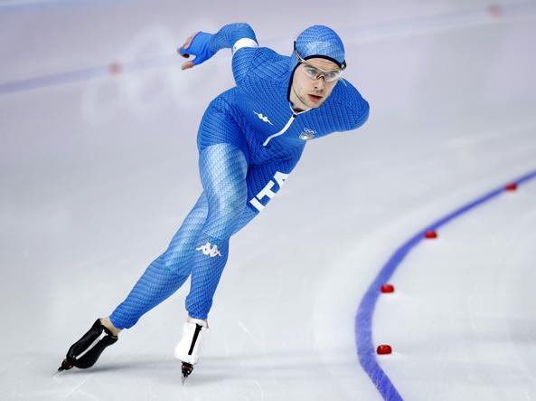 Olimpiadi 2018, pattinaggio velocità: Tumolero vince il bronzo nei 10.000 metri