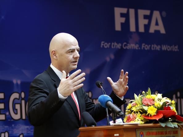 FIFA, ecco la rivoluzione di Infantino: