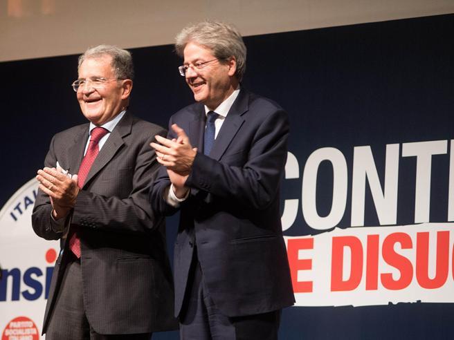 Sfida sul premier, Prodi rilancia GentiloniBerlusconi fa l'