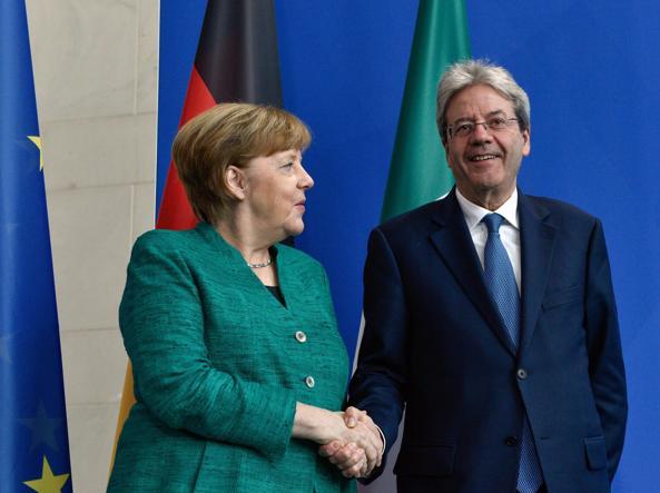 Gentiloni a Merkel: 'Nessun governo populista dopo il voto'
