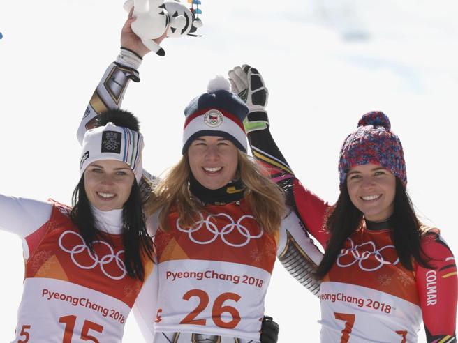 Olimpiadi 2018: superG a sorpresa alla ceca Ledecka, male le azzurre