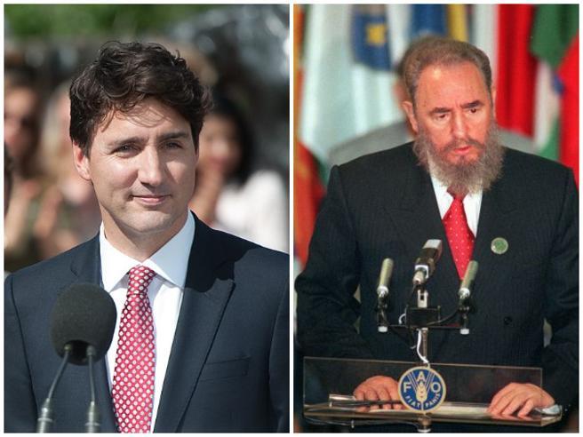 «Fidel Castro non è il padre biologico di Justin Trudeau». Il Canada smentisce la bufala virale