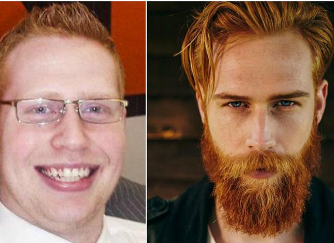 Da imbranato a super modello grazie a barba (e fitness): la trasformazione del giovane gallese