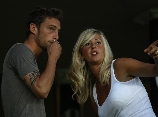 Juventus, Marchisio escluso. La moglie: «Nessun rispetto»