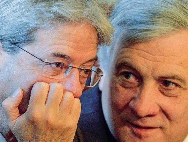 Il liceo, il lavoro, la Juventus: Gentiloni e Tajani, i   ge