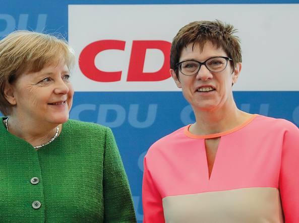 La delfina della cancelliera Merkel, Annegret Karrenbauer, nominata alla segreteria del Cdu