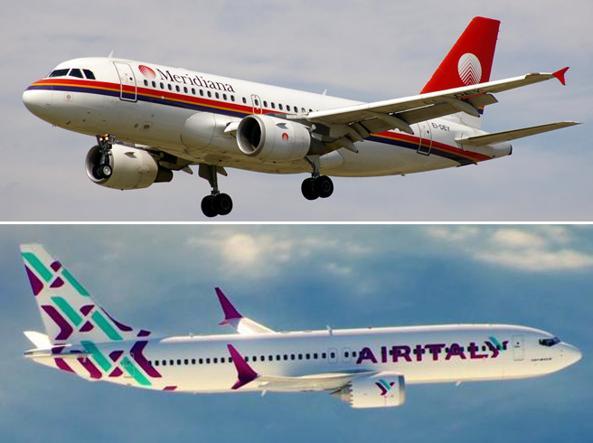 Addio a meridiana ecco air italy flotta di 50 aerei e - Avda meridiana 156 ...
