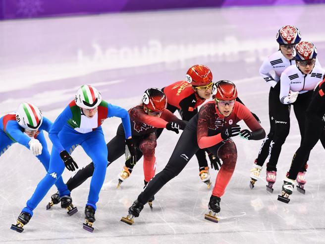 Olimpiadi, short track:  medaglia d'argento azzurra nella st