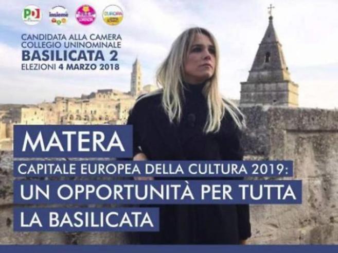 Francesca Barra, errore di grammatica nei manifesti elettorali