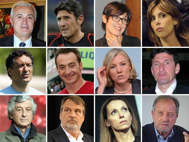 Dopo il rifiuto di Gentile a M5S:i campioni tra sport e politica