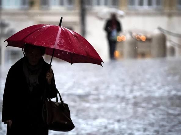 Allerta Protezione civile Marche: pioggia, freddo e neve a quote basse