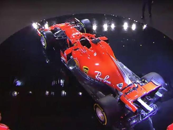 Ferrari F1 2018, ecco la SF71H, Arrivabene: «Un pezzo d?eccellenza del made in Italy»