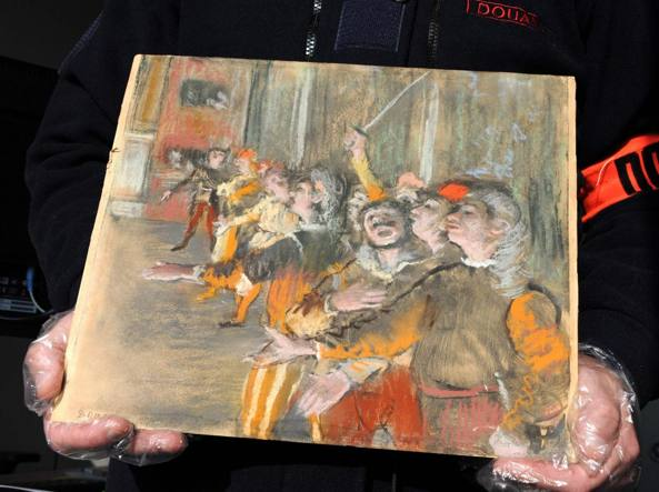 Un Degas ritrovato per caso in un autobus