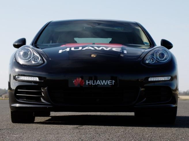 La Porsche guidata dallo smartphone
