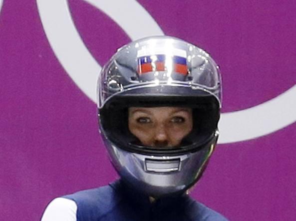 Olimpiadi invernali 2018, doping Positiva la bobbista russa Sergeeva
