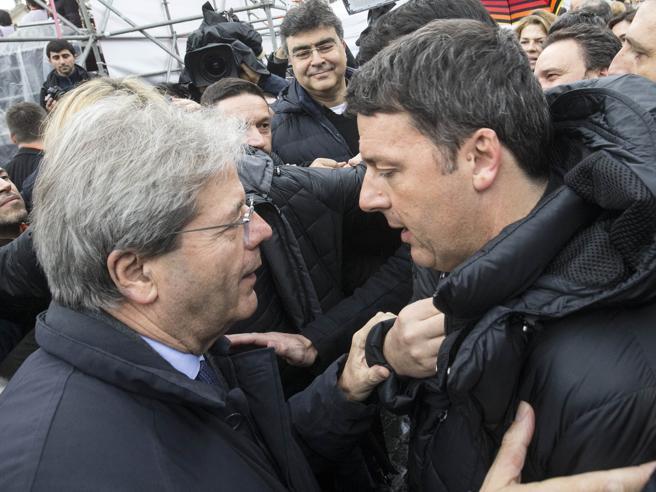 Renzi schiera Gentiloni per il rush finale: «Più tv,  gioche