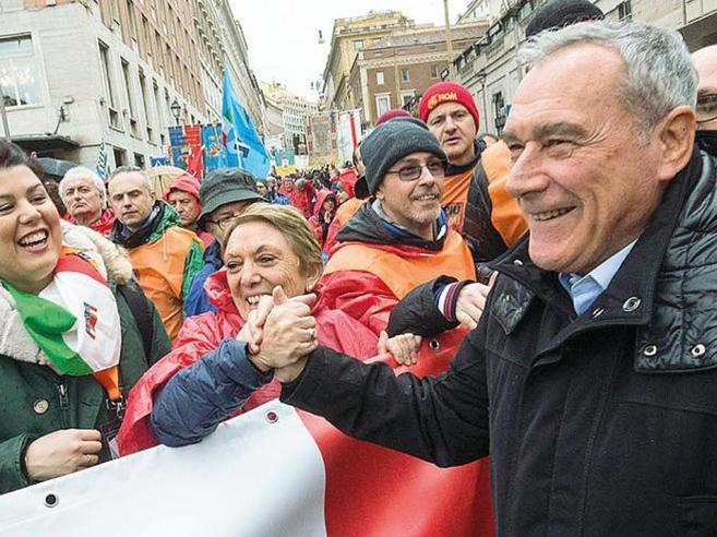 Grasso: «È dura sostenere Di Maio, nelle liste troppi impresentabili»