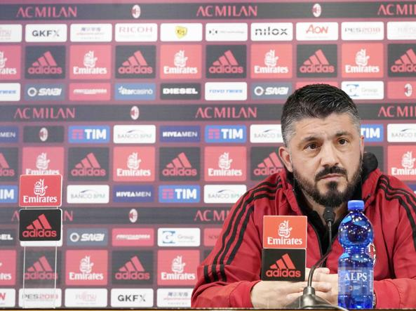 LAZIO MILAN Gattuso e Borini: