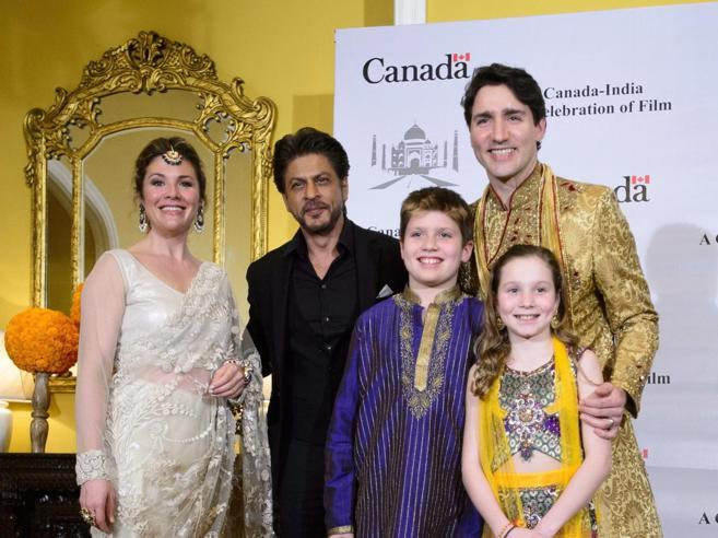 Trudeau  in stile Bollywood foto«Disastro totale» la visita in India