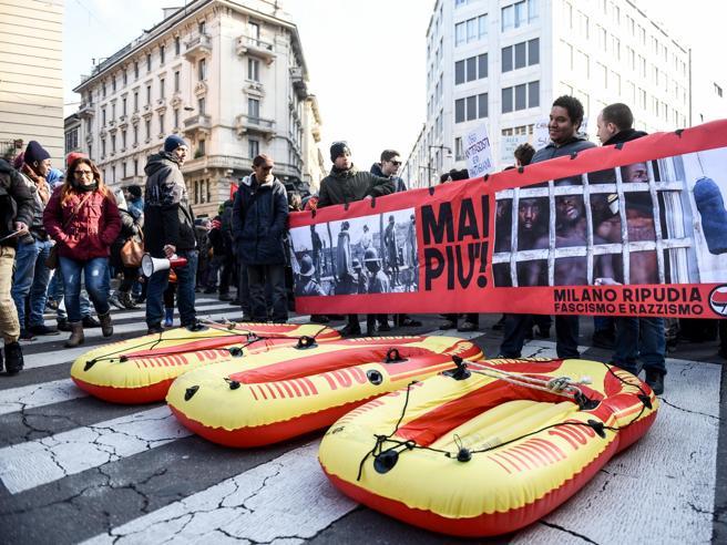 Cortei Milano,  evitato il rischio del «sabato nero»|Foto|Video«Difeso il diritto di manifestare»