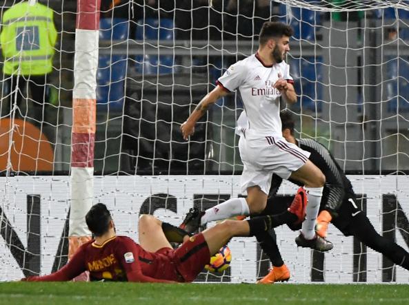Roma-Milan, le formazioni ufficiali: Schick e Cutrone dal 1'
