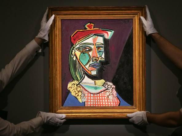 All'asta il ritratto di Marie-Thérèse Walter, amante di Picasso