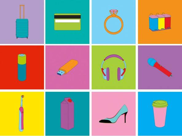 Michael Craig-Martin Objects of our times