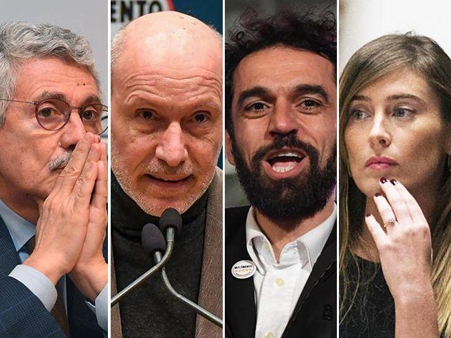 Passa Boschi. Ko   D'Alema,De Falco e l'ex Iena Giarrusso I vincitori e i vinti