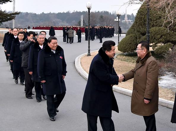 Kim apre alla Corea del Sud: