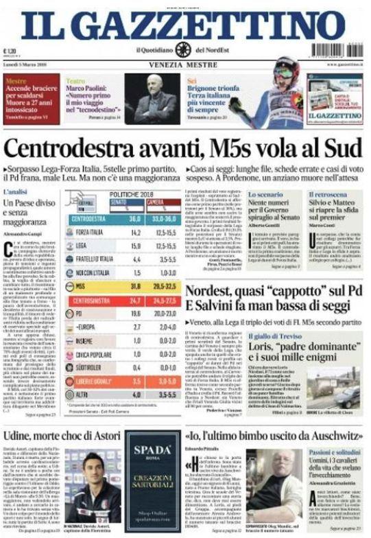 Le prime pagine dei giornali di oggi - Giornali di cucina ...