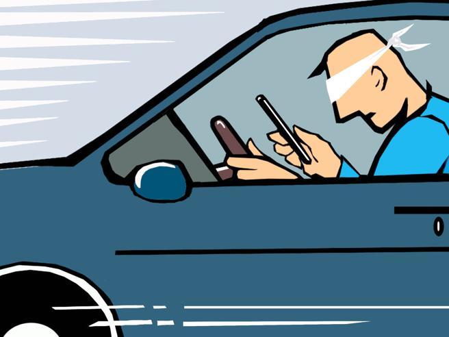 Serve un modo per fermare i telefonisti al volante