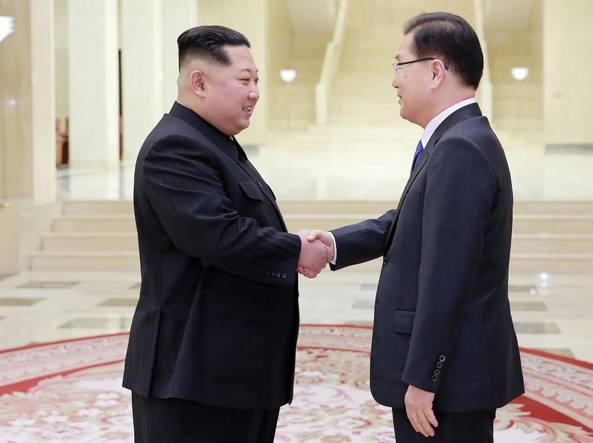 Corea del Sud comunicherà agli U.S. i messaggi di Kim Jong