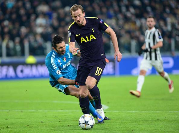 Tottenham-Juventus 1-2 gol, highlights. Decide Higuain