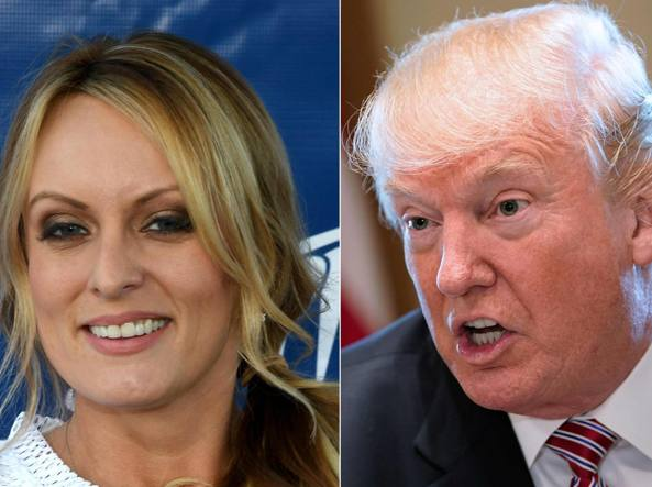 Trump, porno star gli fa causa: