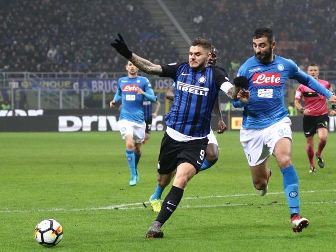 Inter-Napoli 0-0, Sarri frenaLa Juve vince, ora è in testaMilan, 3 punti al 94'|Classifica