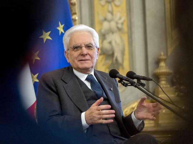 Mattarella: «Serve responsabilità senza egoismi, ho grande fiducia nell'Italia»