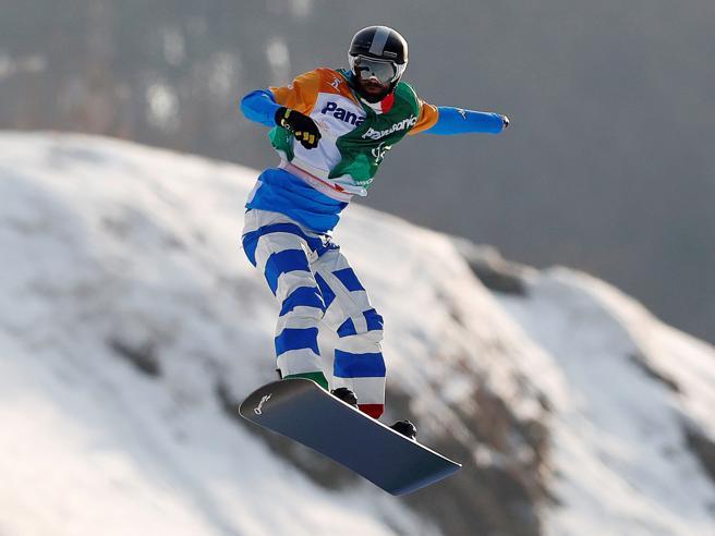 Paralimpiadi a Pyeongchang: Pozzerle argento nello snowboard cross