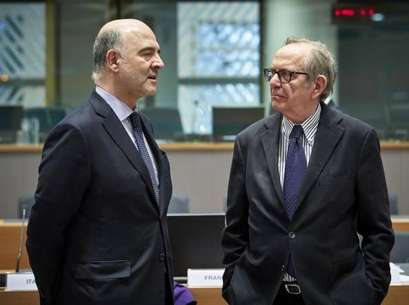 Padoan alla riunione Ecofin