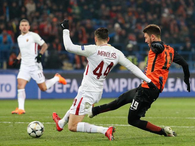Champions, obiettivo quarti:  la Roma all'Olimpico contro lo Shakhtar| Diretta  0-0
