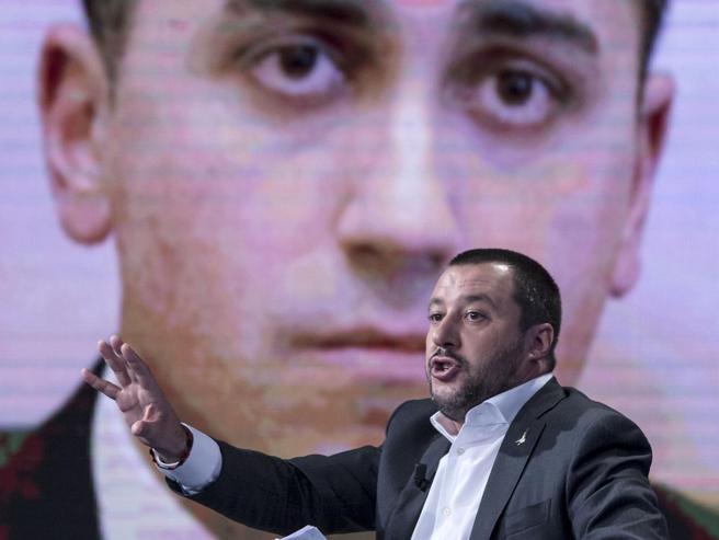Camere |  Salvini parla con Di Maio VideoIl leader M5S |  «Montecitorio spetta a noi»
