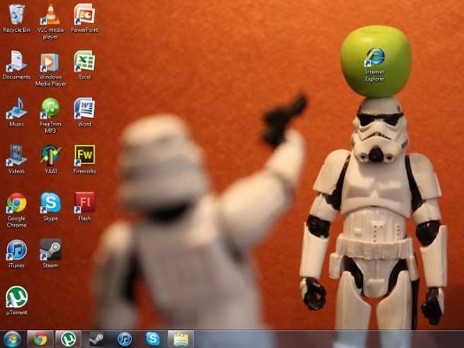 La coordinazione perfetta tra sfondo e icone: geniali idee per il desktop del computer