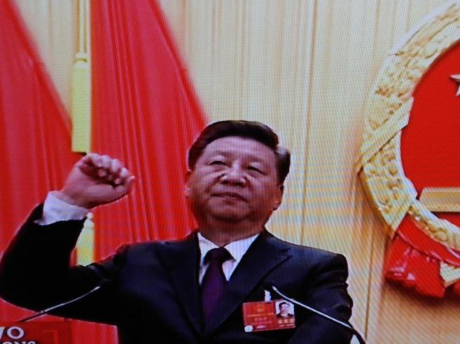 Xi rieletto presidente in Cina con il 100 per cento dei voti Foto