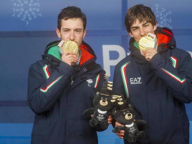 Giacomo e Fabrizio: compagni di classe  e coppia d'oro paralimpica